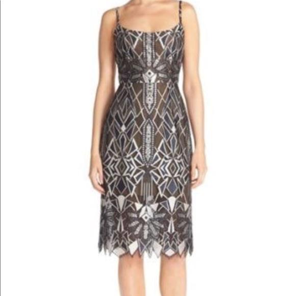 86c7793b9a48dd BCBGMaxAzria Dresses   Skirts - BCBGMAXAZRIA Alese Deco Lace Dress